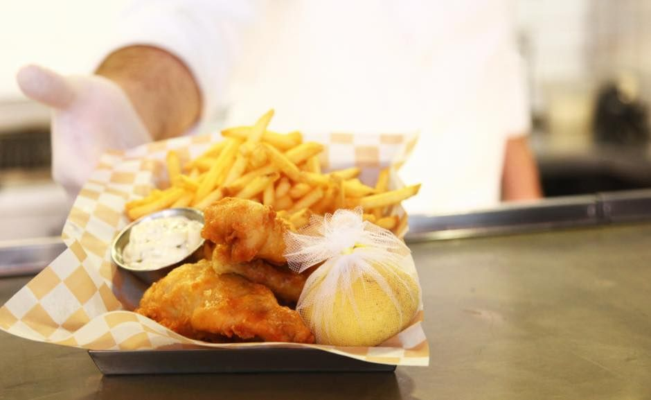 The BRGR Co. #Fish & #Chips Call 01 999 836