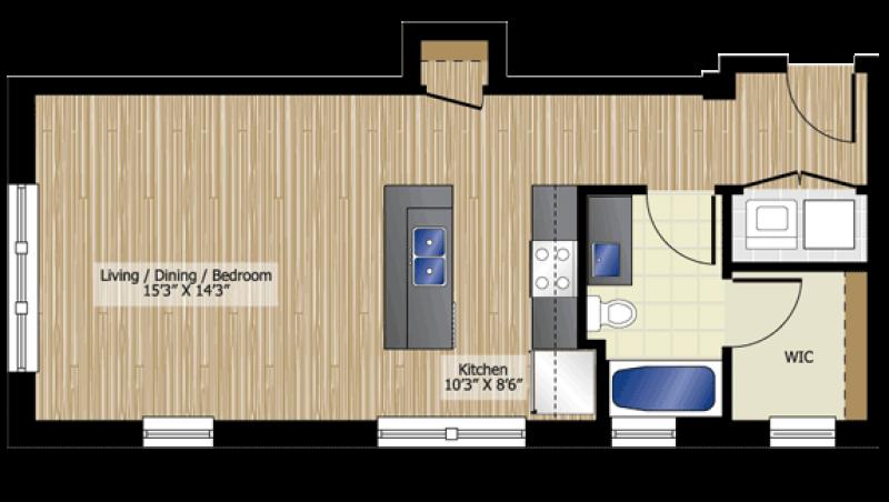 studio floor plans | download as pdf | small floor plan