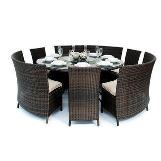 Heritage Loom Madrid Patio Furniture Dining Set