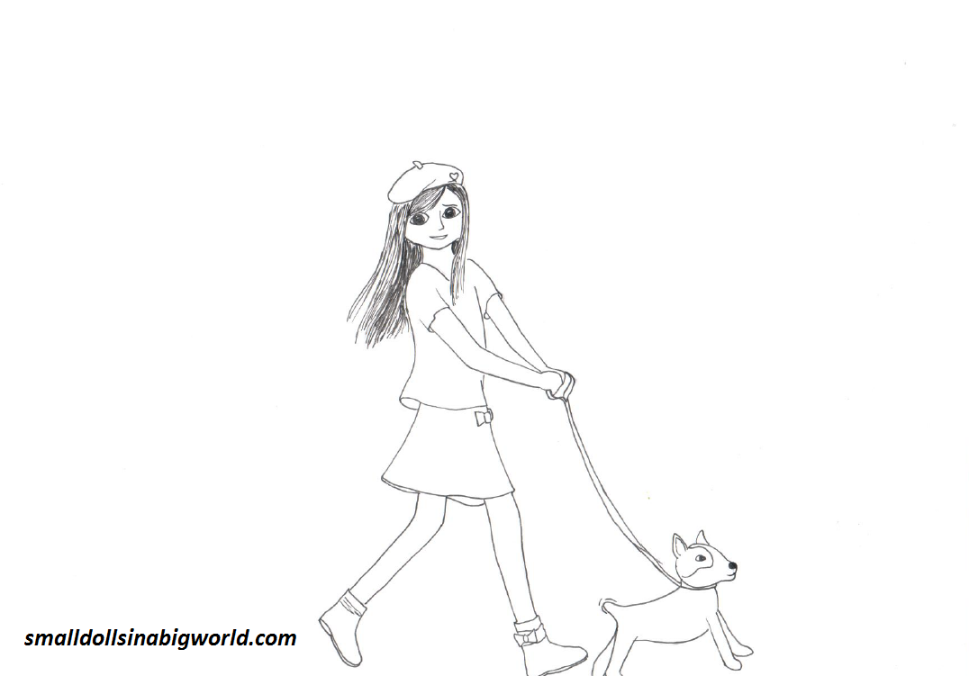 American Girl Grace Coloring Pages American Girl Stuff