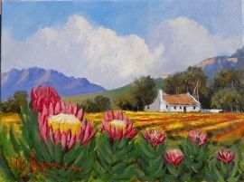 Beautiful South African landscape paintings for sale by local artists  showcased at our established art galleries across the country, and now  conveniently ...