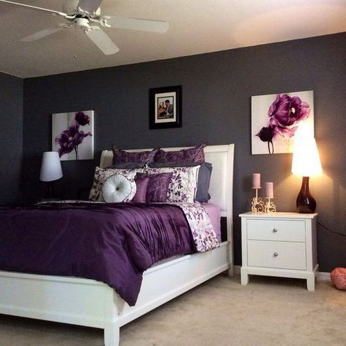 + 33 The Nuiances of Cozy White and Purple Bedroom Decor – myhomeorganic - coifbuilt.thecapitaltech.com