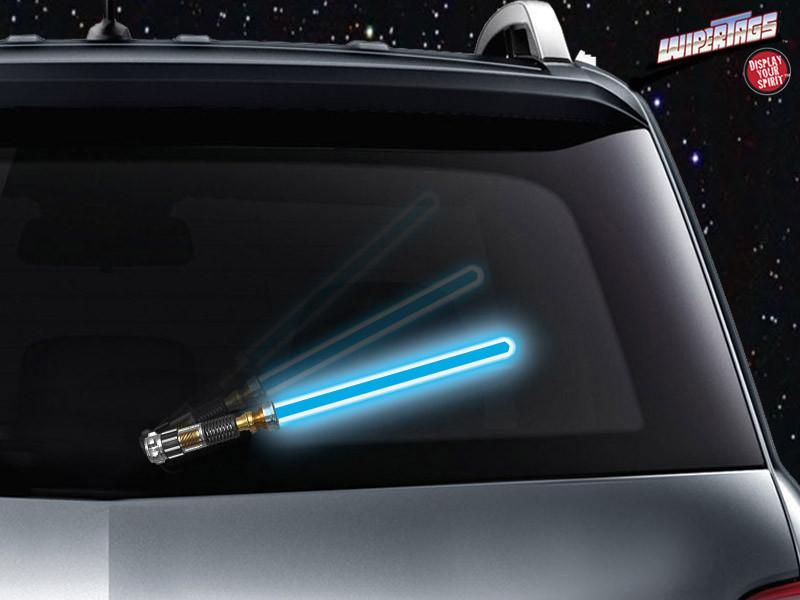 Wipesabers Reflective Saber Wipertags 4 Colors Windshield