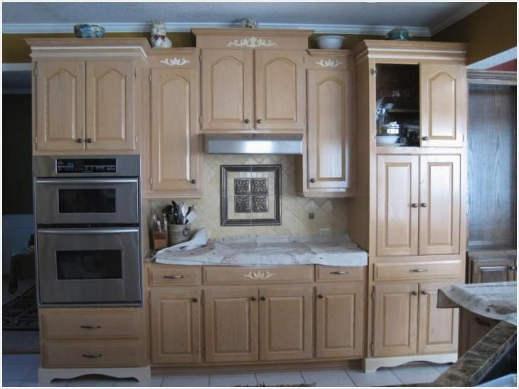 Pickled Oak Kitchen Cabinets Ideas in 2020 | Kitchen ...