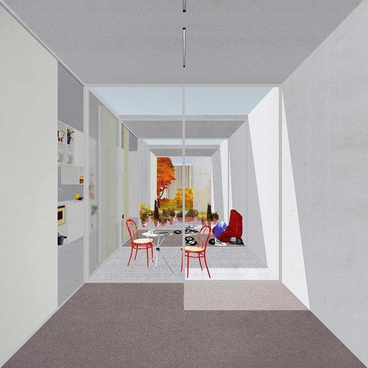 Mon Comptable Partout Avec Moi Illustration D Architecture Collage Architecture La Visualisation De L Architecture