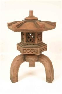 Anese Lantern Garden Ornament Beautifully Made In Resin With A Sand Colour Finish Completely Weatherproof