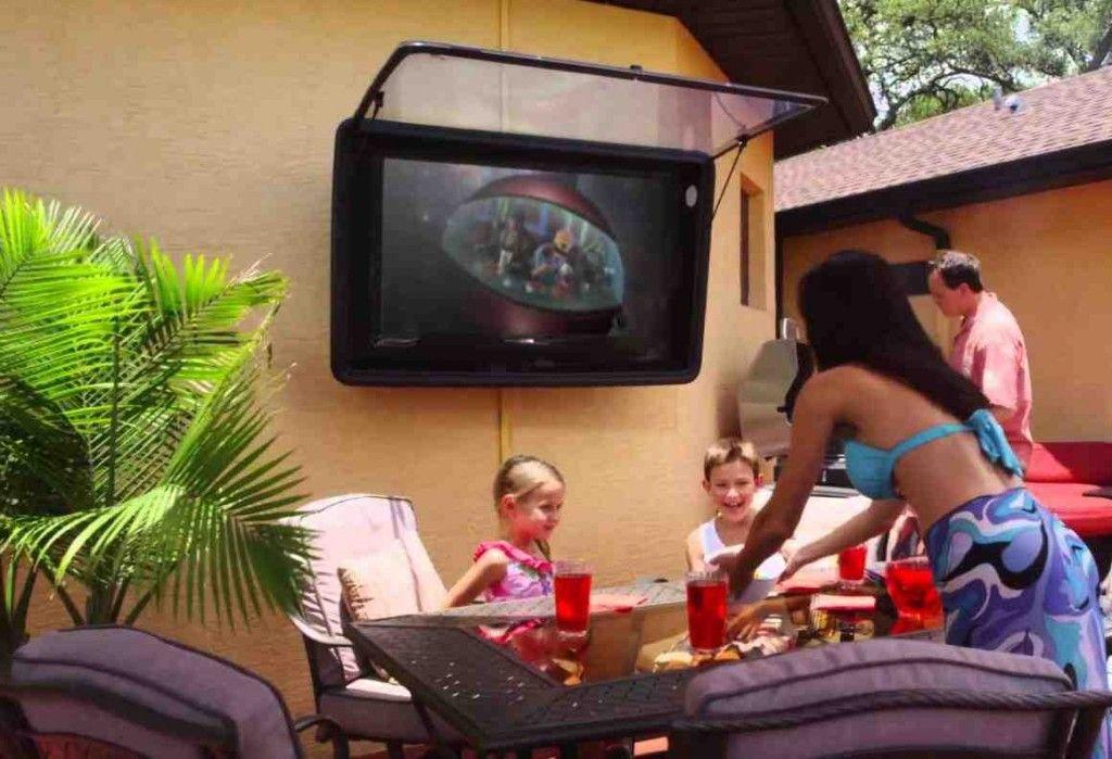 Outdoor Weatherproof TV Cabinet