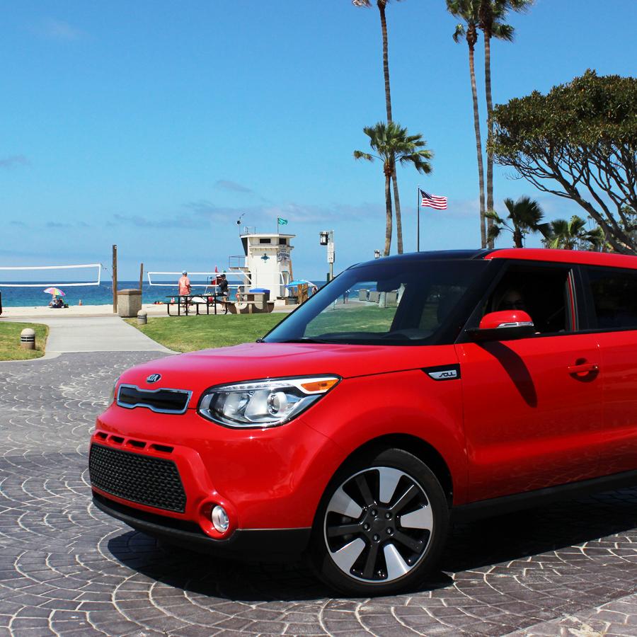 Playing Hooky At The Beach Today Kia Soul Kia Motors America Kia