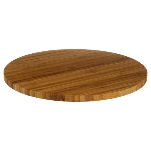 Plateau Tournant Bambou O 35 X H 3 Cm Service De Table Complet Assiette A Pates Art De La Table