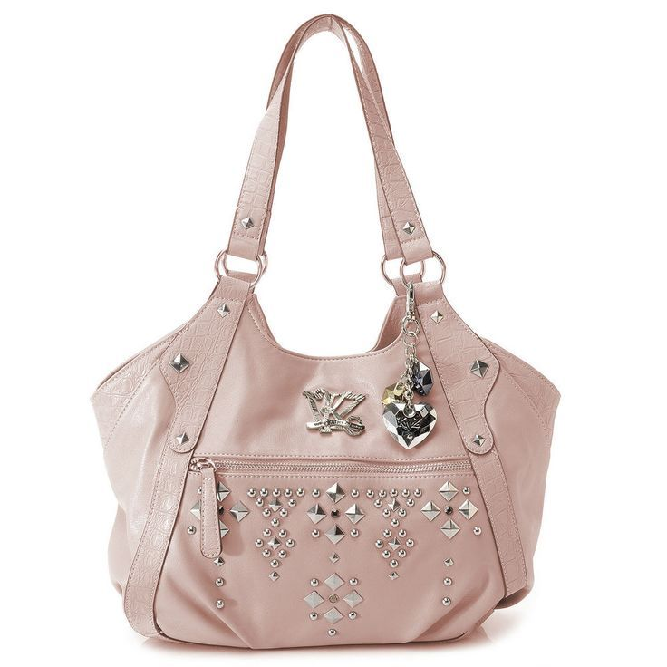 4043b86533 Meilleurs Sacs à main : Kathy Van Zeeland purse two handle tote New with  tags msrp $109 Rose Gold #Kathy