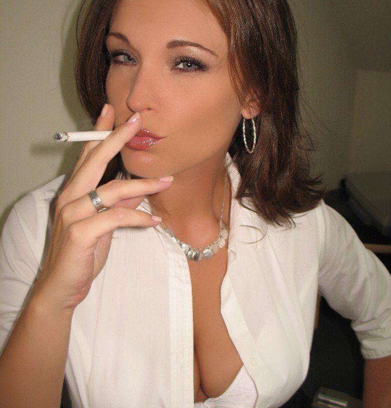 Necessary female smoker fetish