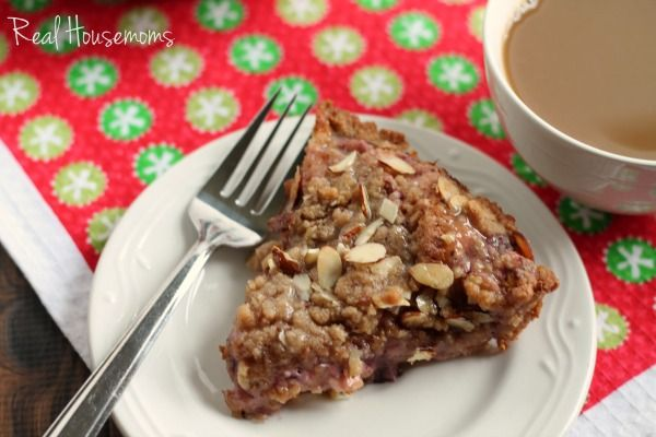 You won't believe that this impressive Easy Cranberry-Almond Cream Cheese Coffee Cake starts with a can of refrigerated cinnamon rolls.