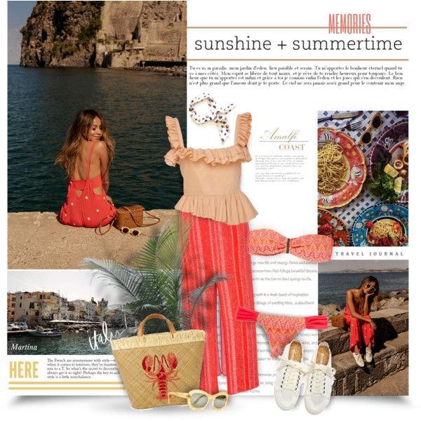 A fashion look from July 2017 by thewondersoffashion featuring Brock Collection, Brigitte, Aranáz e Bottega Veneta