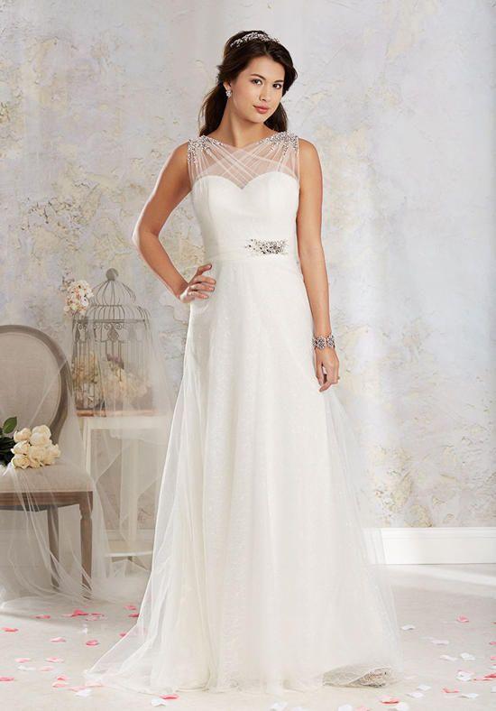 Alfred Angelo Modern Vintage Bridal Collection 8541 Wedding Dress ...