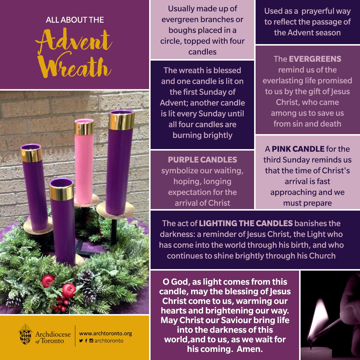 All about the Advent Wreath                                                                                                                                                                                 More