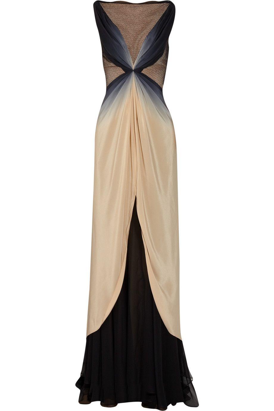 Zac Posen ombre silk gown. Sigh.