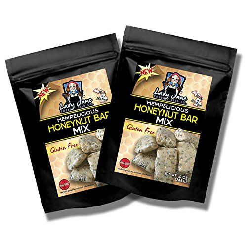 Lady Jane Gourmet Seed Company Hempelicious Honey Nut Bar Mix 2 Count ** Click image to review more details.