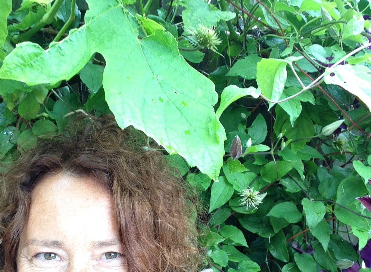 Groene Selfie Ivana Citterbartova