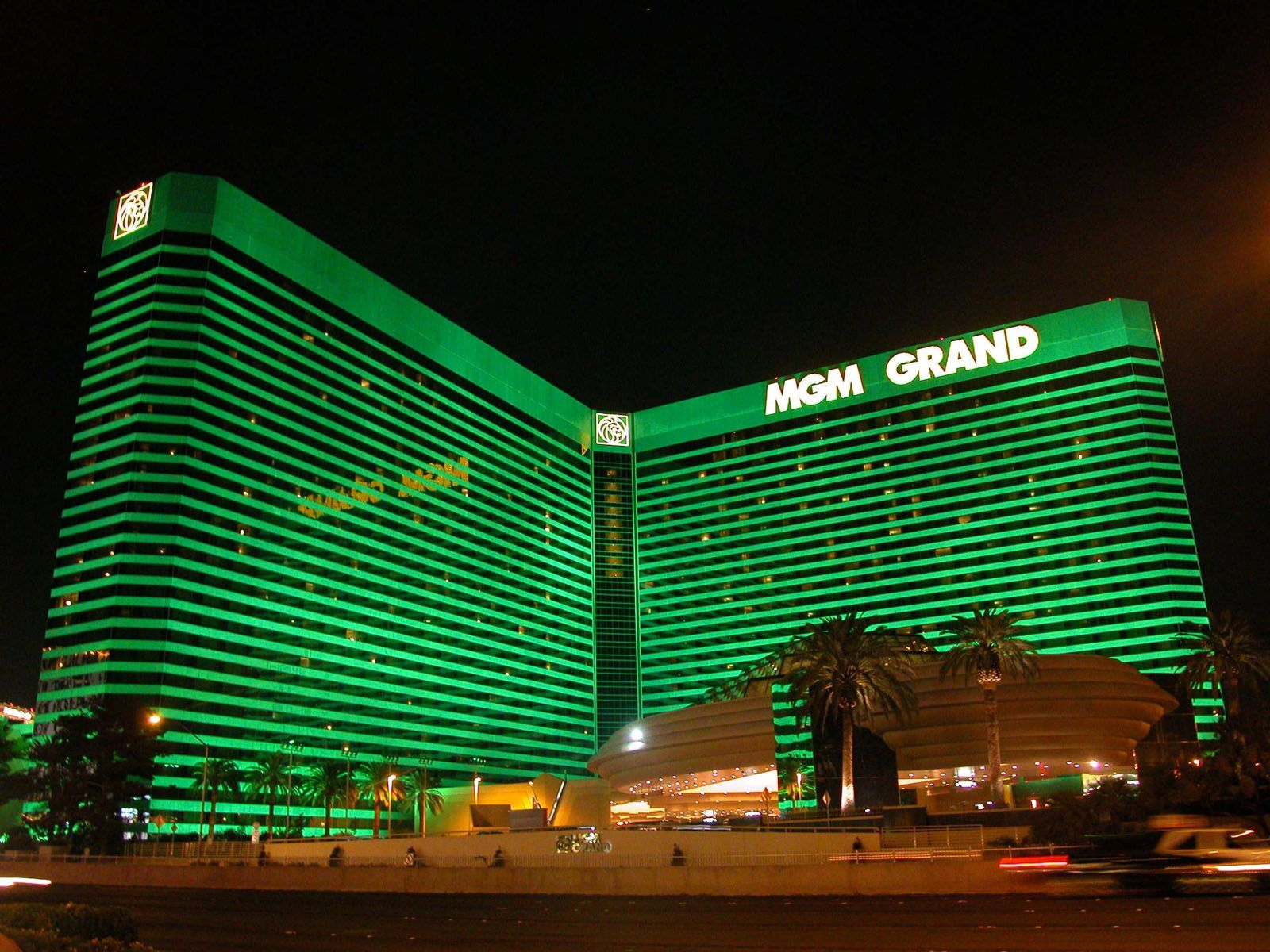 The Mgm Grand Las Vegas Is A Hotel Located On Strip In Paradise Nevada Second Largest