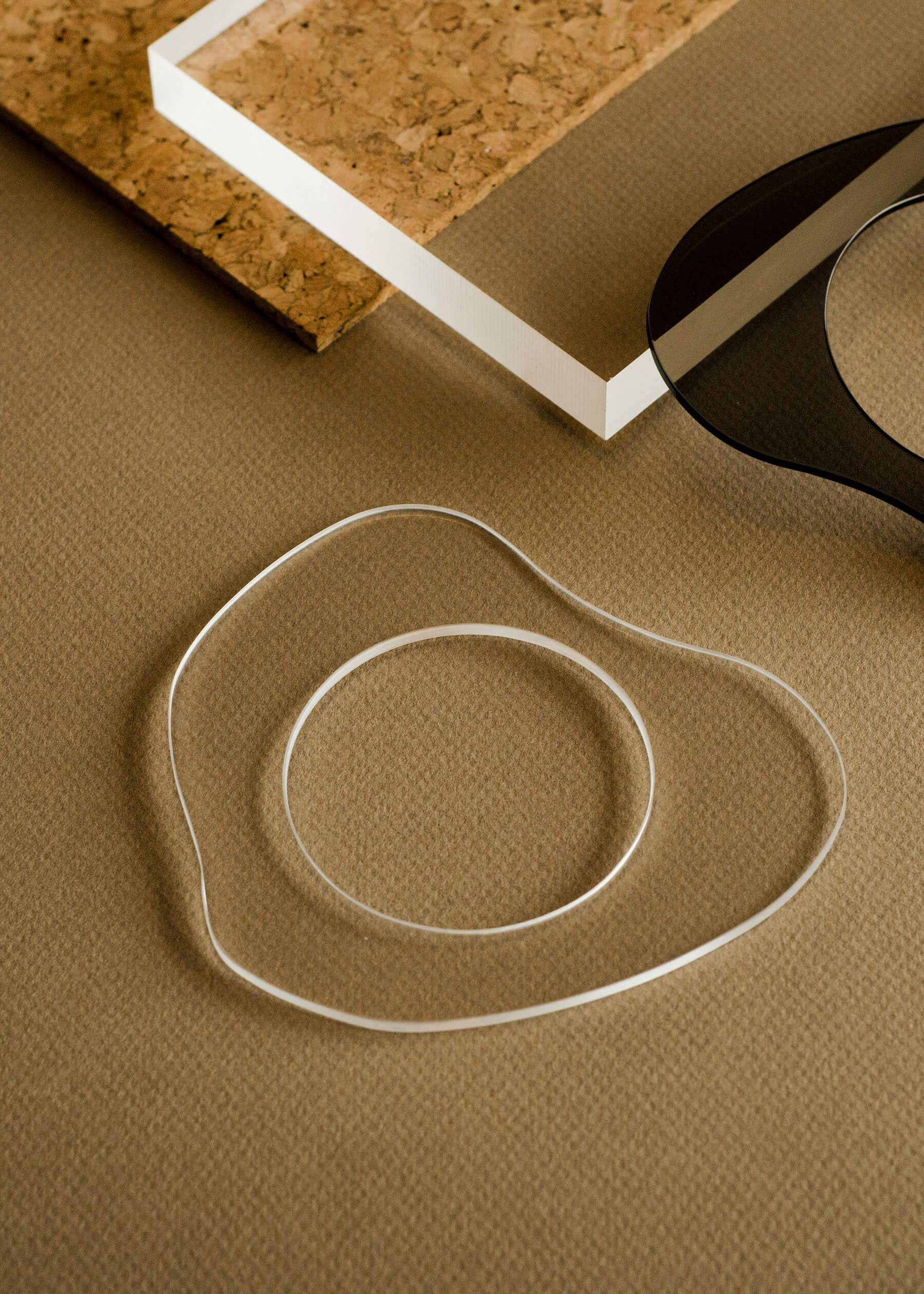 Penny Sage — Zelda Murray Perspex Bangle (clear)