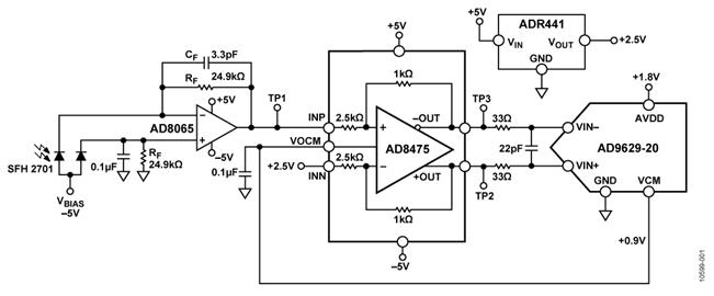 circuit diagram pulse oximeter