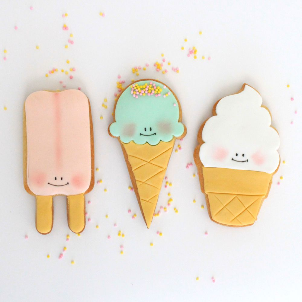 ice-cream party cookies