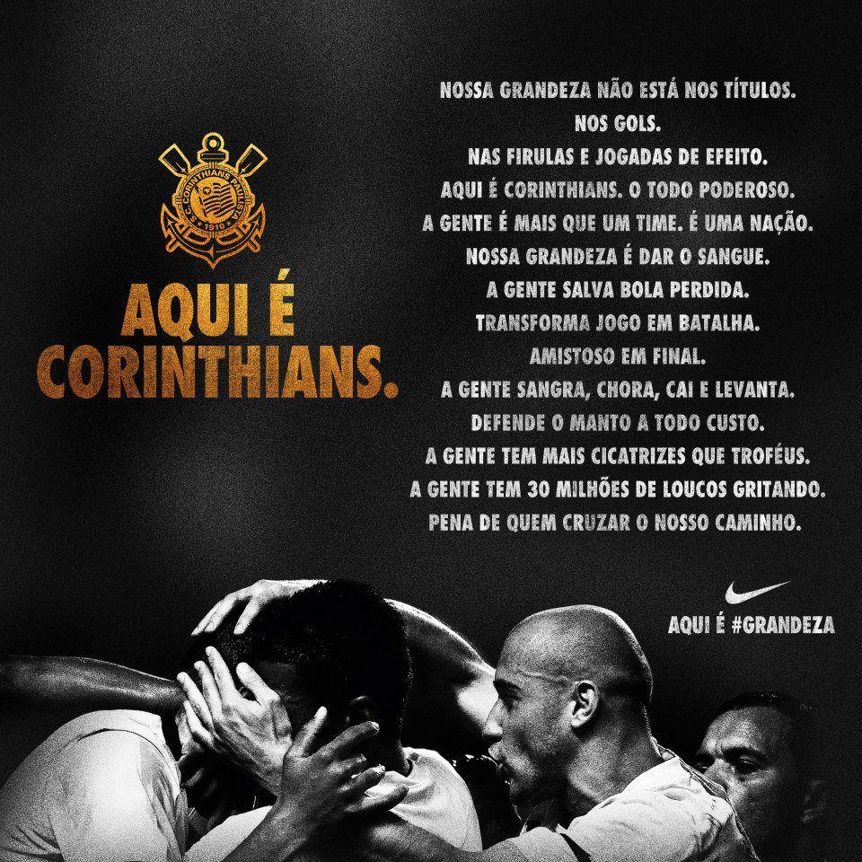 Aqui E Corinthians Com Imagens Corinthians Time Frases