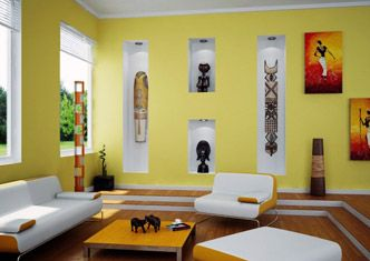 Wonderful African Inspired Home Decor | Africahomes Part 9