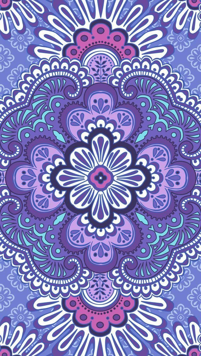 Lilac Tapestry Mobile Download Tech Wallpapers