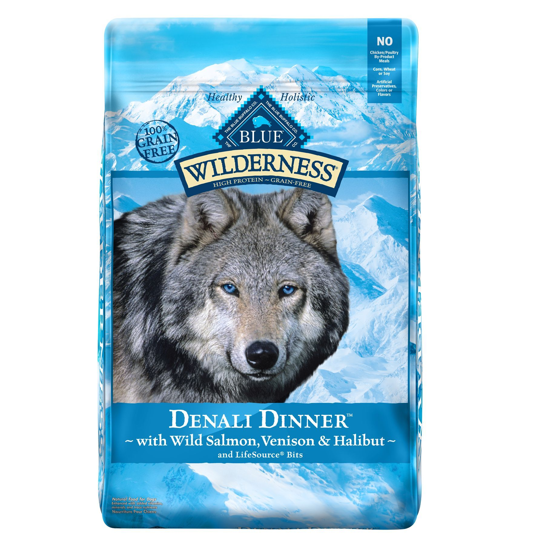 Blue Buffalo Wilderness Denali Dinner Dog Food Grain Free