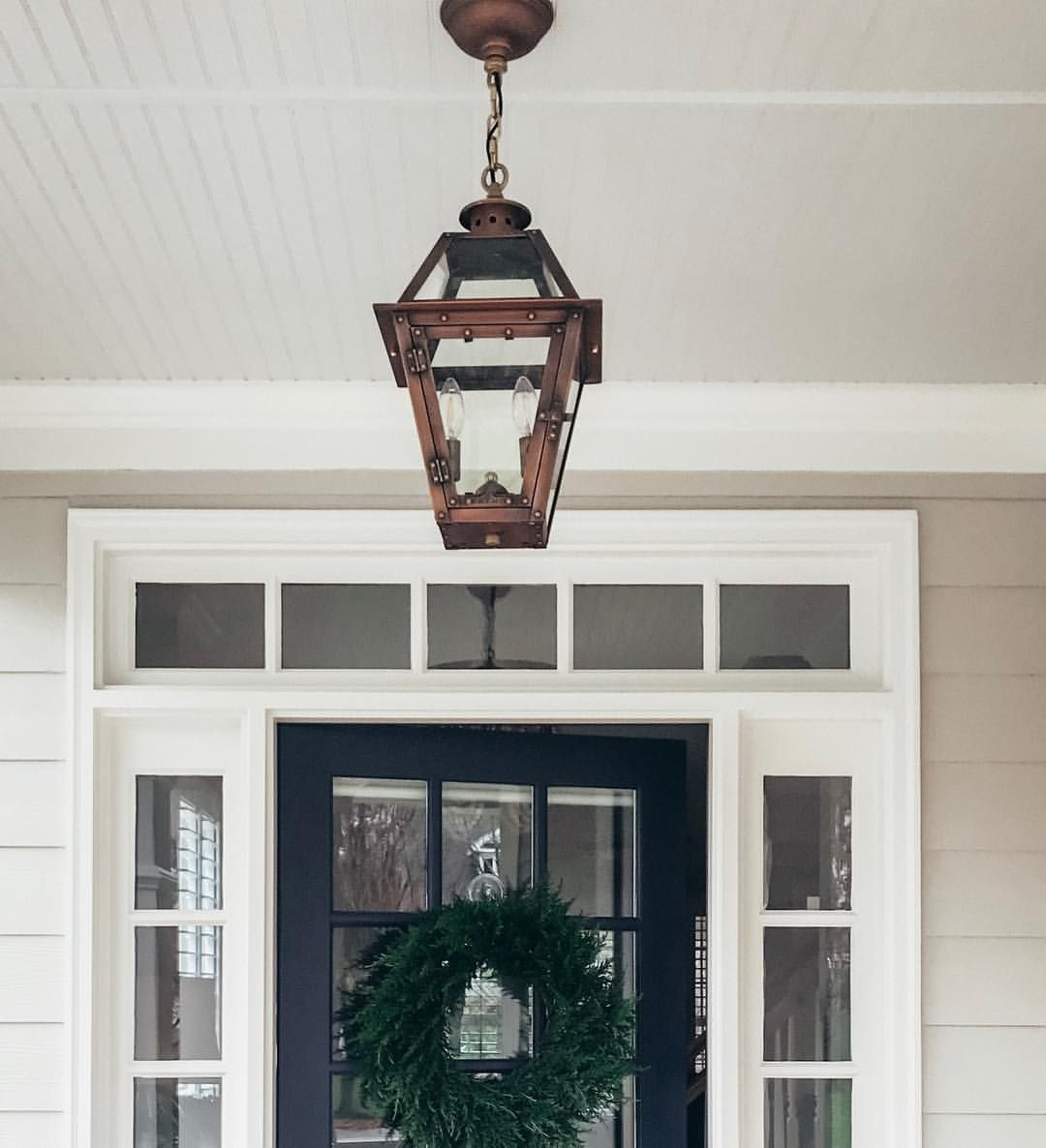 Primo Copper Lantern From French Market Lanterns Front Porch