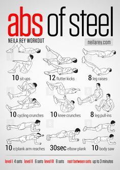 ab workouts without weights