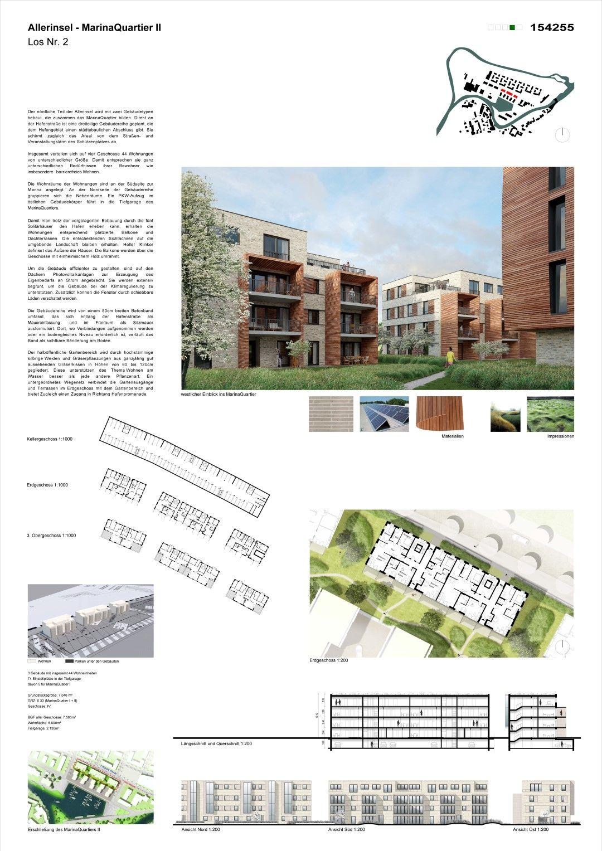 Los 2 2. Rang: Los 2.2, © Architekturbüro Hubertus von Bothmer I JA:3 Architekten