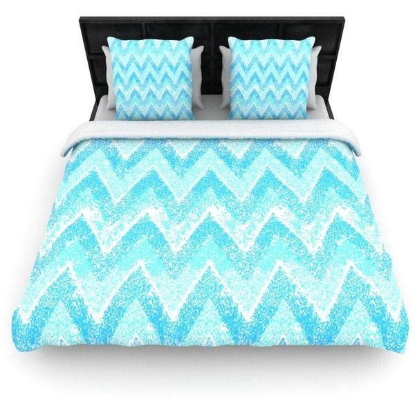Mint Snow Chevron Blue Chevron Woven Comforter Duvet Cover Size Twin King Size Bed Linen King Bed Linen Blue Bedding
