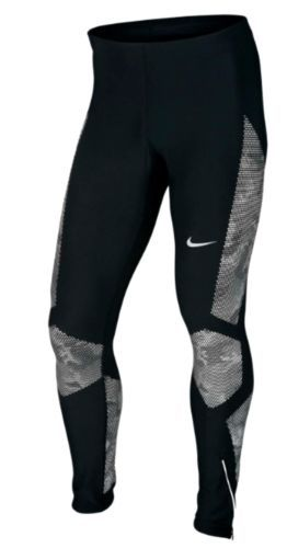 NIKE REFLECTIVE MEN'S RUNNING TIGHTS WAS $120 | Mens running