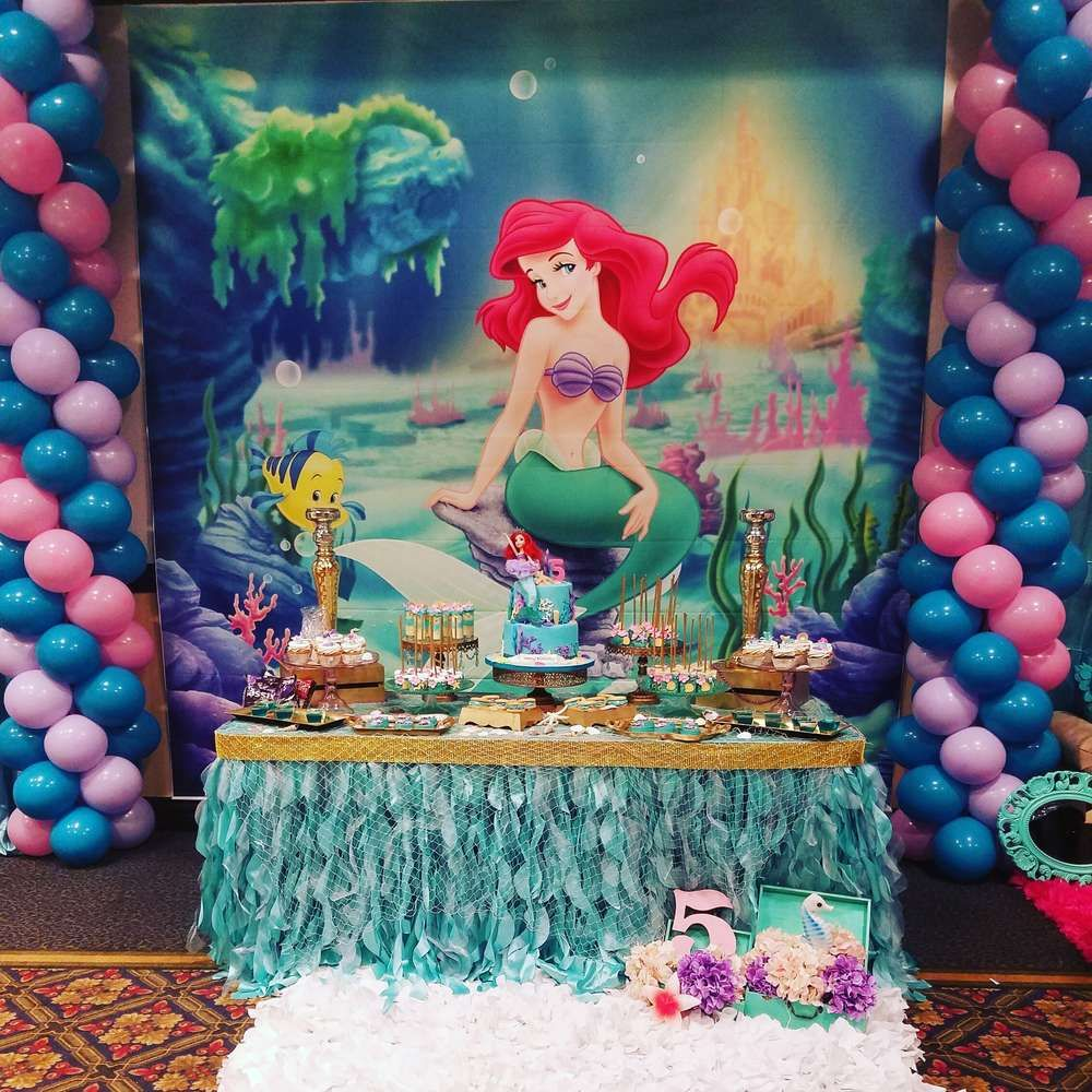 Mermaid Birthday Party Ideas In 2019