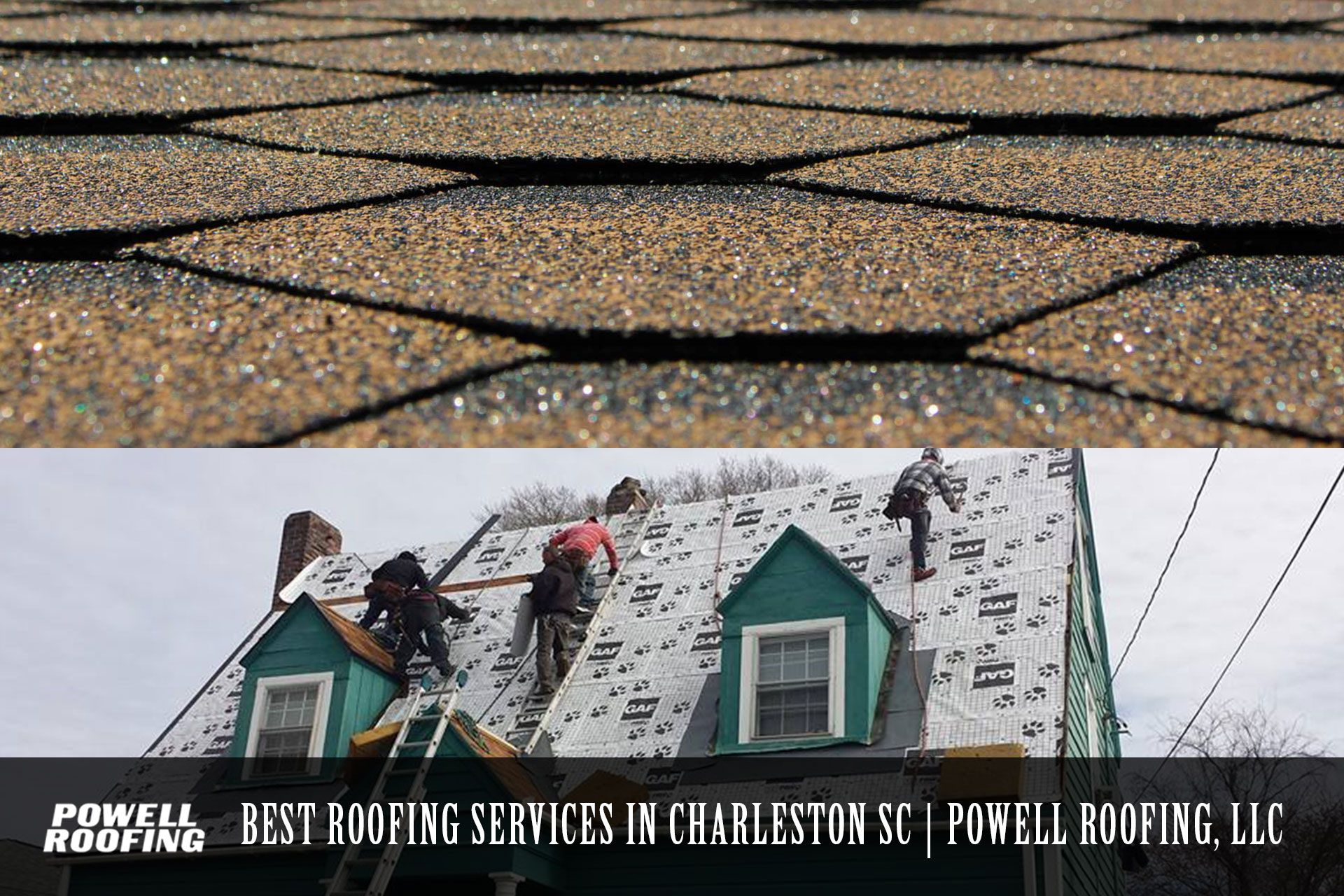 Powell Roofing Provides The Matchless Roofing Services In Charleston Sc You Can Swear By Our Work We Will Make Your Estate With Images Cool Roof Roofing Roofing Services