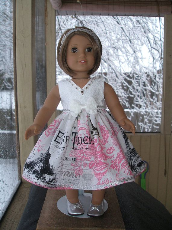 Fancy Dress for 18 inch doll like American by americangirlstyled