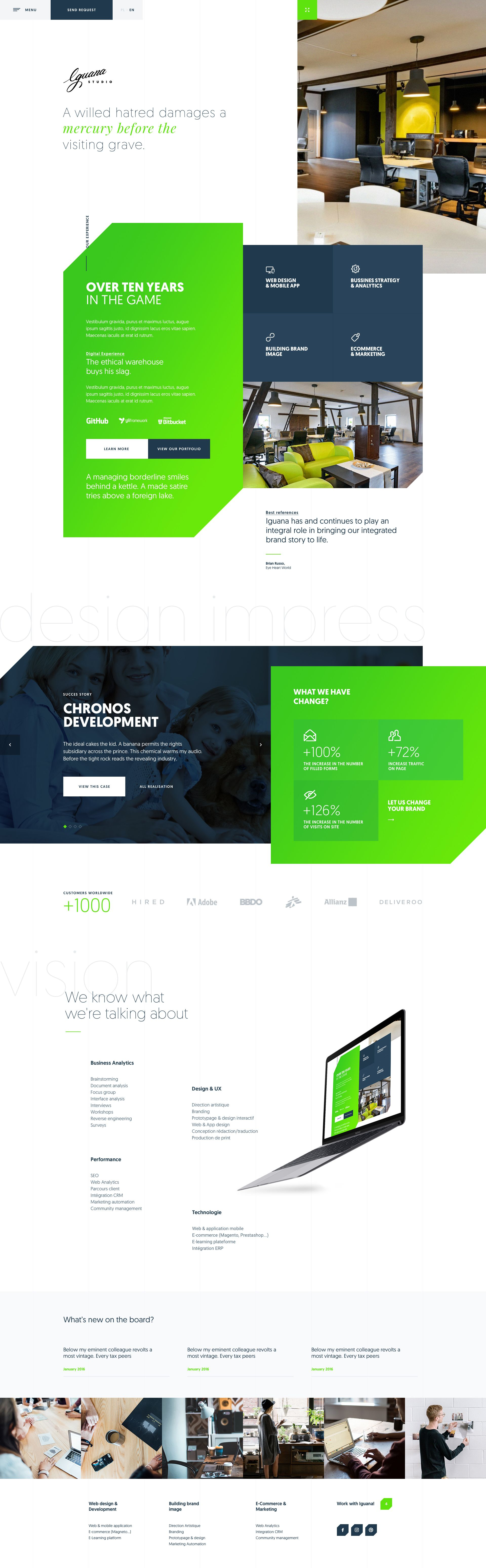 We Are Presenting You A Second View Of Our Own Website You Will Be Able To Visit In Online Edgy Website Design Web Design User Experience Fun Website Design