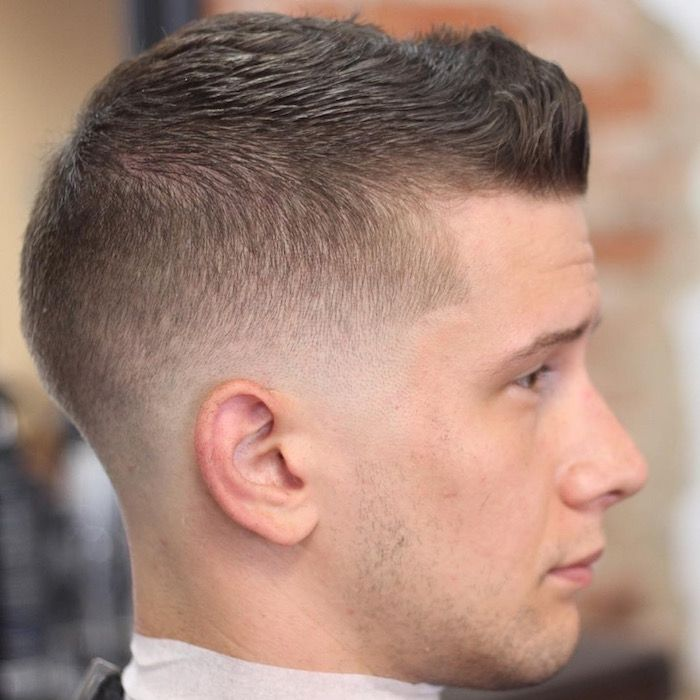 Coupe homme degrade bas
