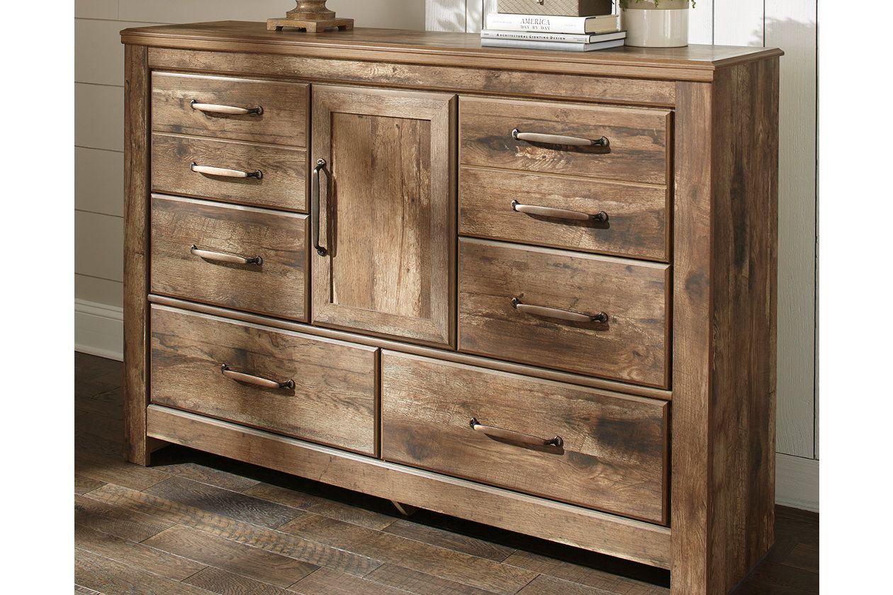 Blaneville Dresser Dresser decor, Dresser, Leather
