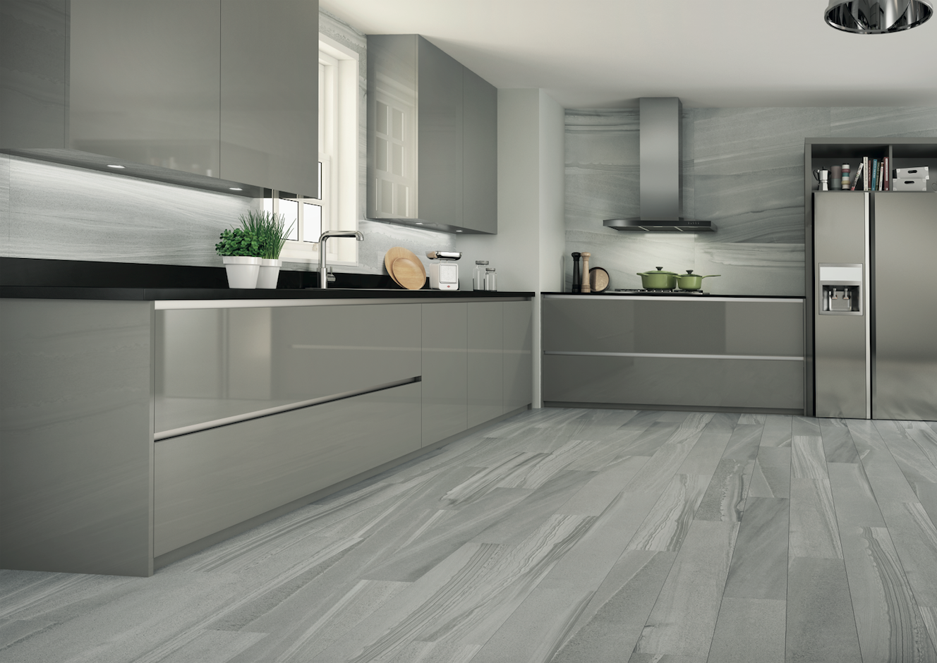 Roca Cocinas Legend Collection Glazed Porcelain Tiles By Roca Legend