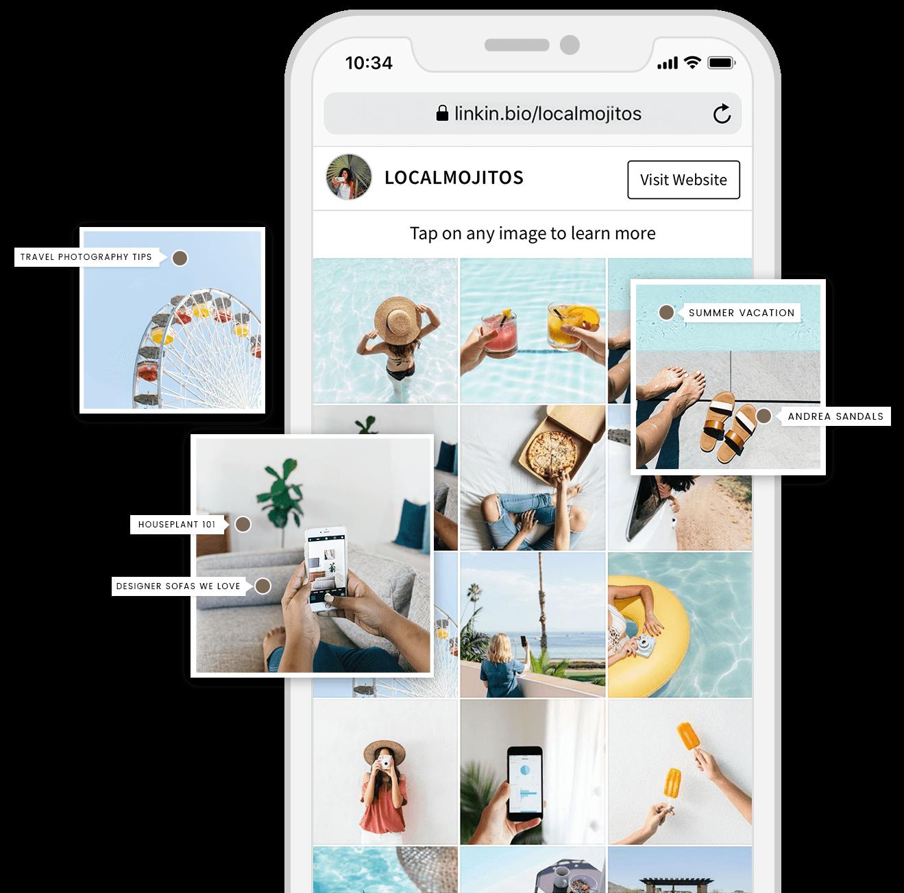 53cbb32d252447 Sell on Instagram: Create a Shoppable Feed Using Linkin.bio | Music ...