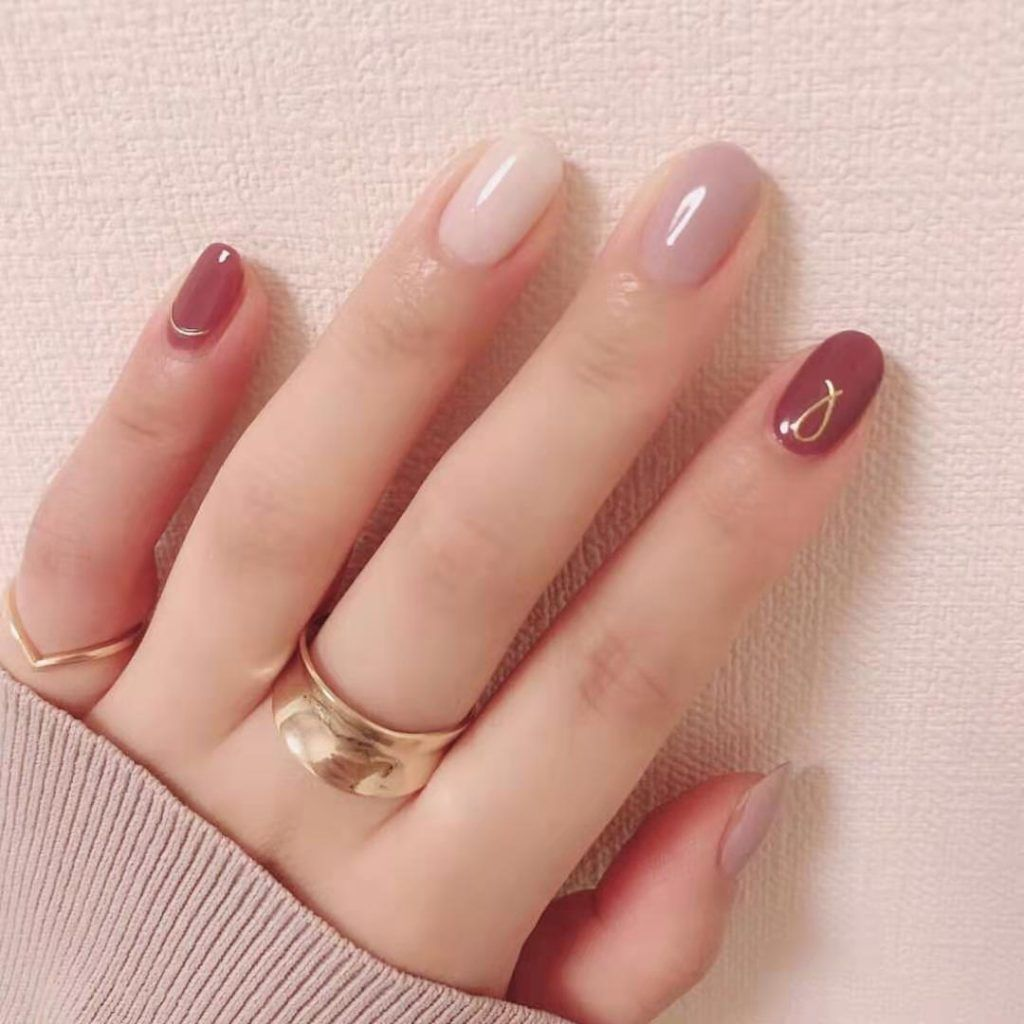 10 Beautiful Poly Gel Nails For Autumn You Just Must Try Classy Nail Designs Classy Nails Nail Colors