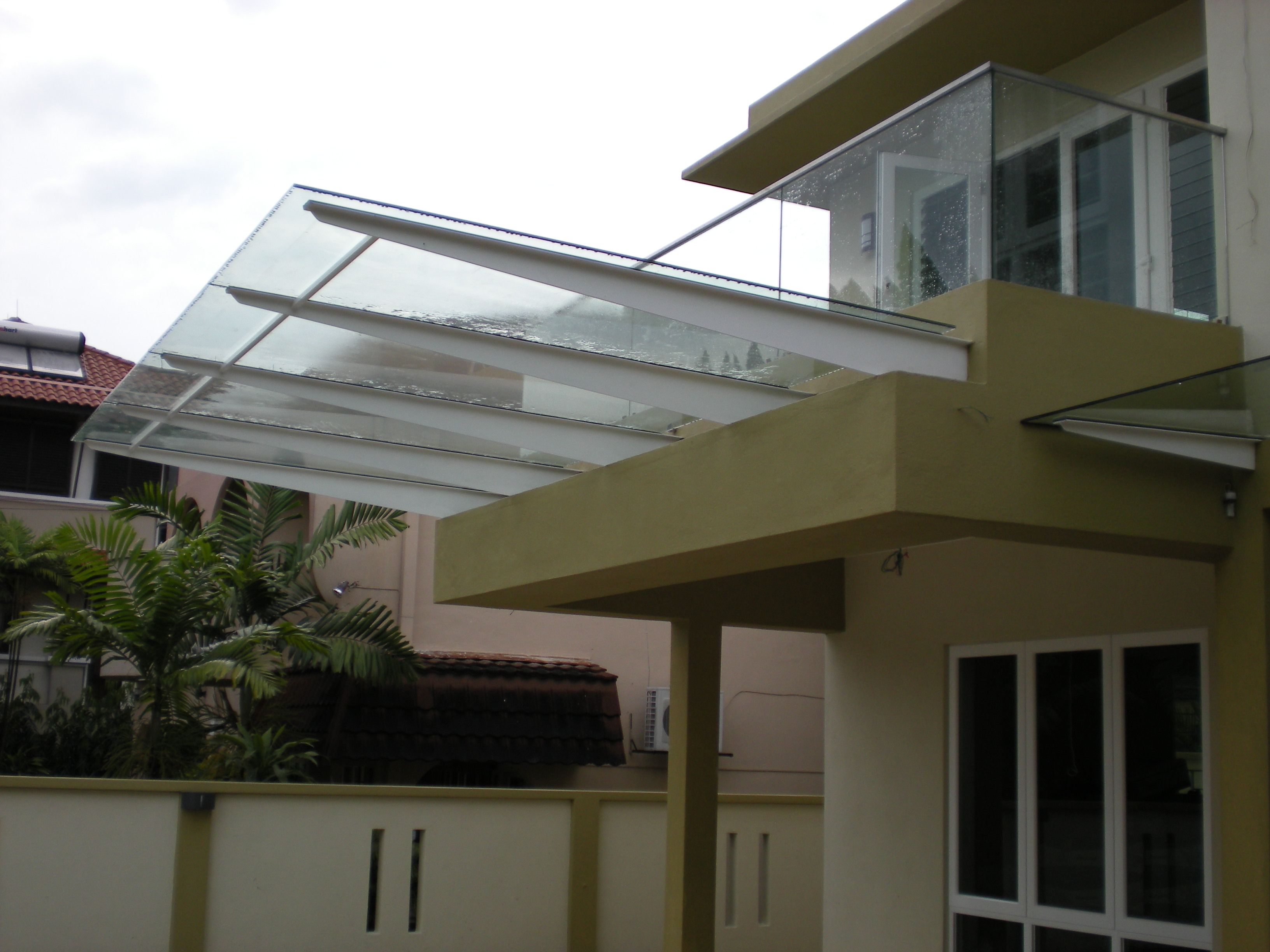 glass awning | modern awning | pinterest | modern and balconies
