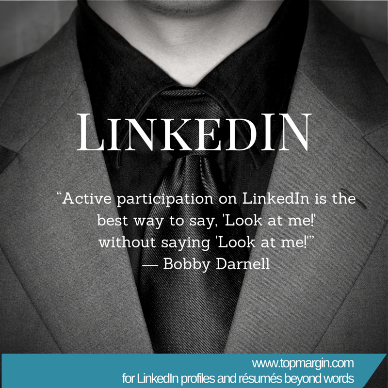 Many LinkedIn users struggle with what they should write