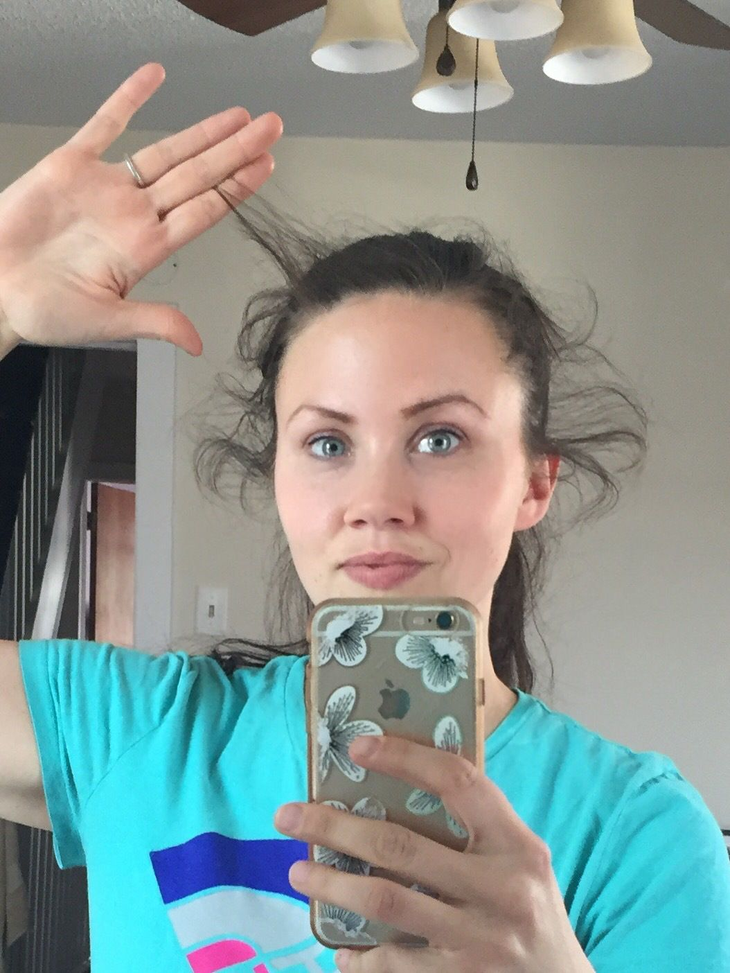 How to naturally tame baby hairs. Grow baby hair, Hair