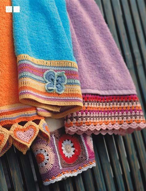 great idea | Crochet #4 | Pinterest | Häkeln, Häkelborten und Borte