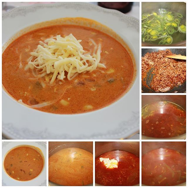 #Tacosuppe oppskrift på spiselise.com #suppe #kjappmat #food #soup #godt #godtno