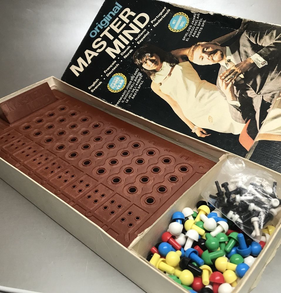 Invicta Games Original Mastermind Game GC 1972 Complete